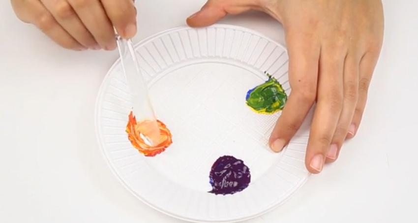 Công thức pha màu sơn nước