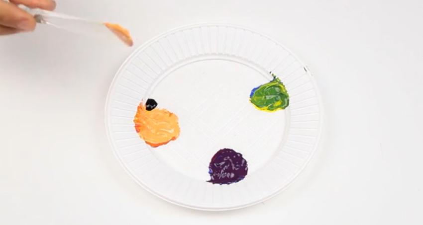 Công thức pha màu sơn