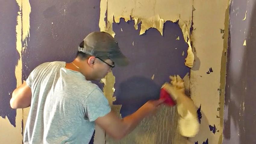 Vệ sinh tường nhà trước khi sơn nước