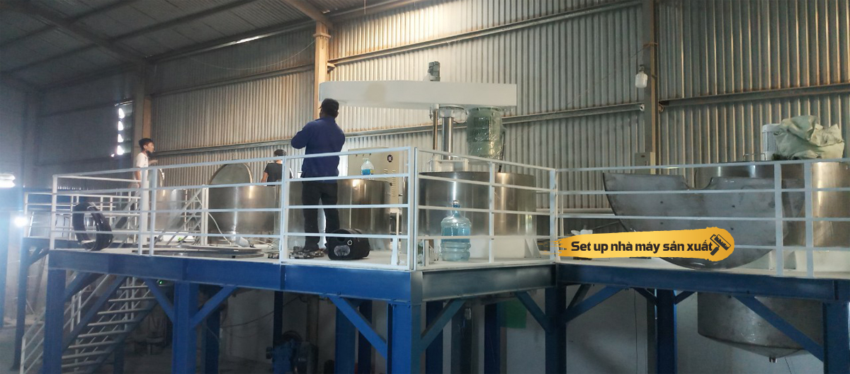 Gia công sản xuất sơn nước