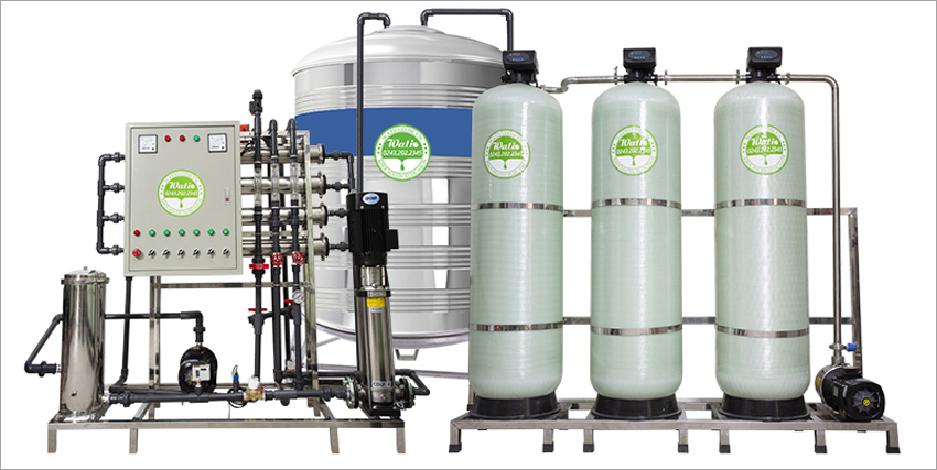Máy lọc nước ro cho nhà máy sơn