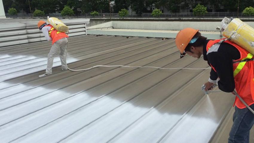Công nghệ sơn chống nóng mái tôn