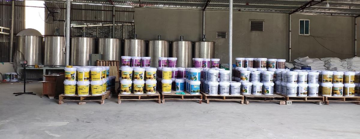 Mở xưởng sản xuất sơn nước, công thức sơn nước