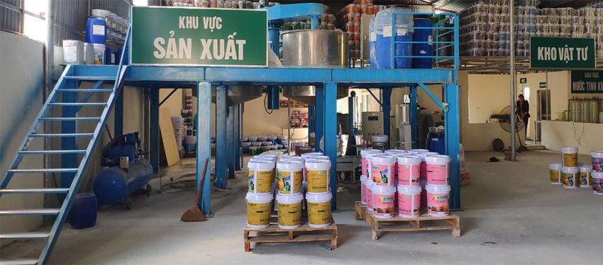 Nhà máy sản xuất sơn