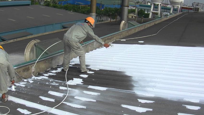 Công nghệ sơn chống nóng
