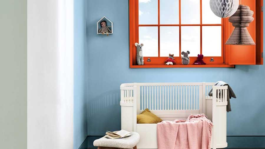Chọn màu sơn cho phòng của bé