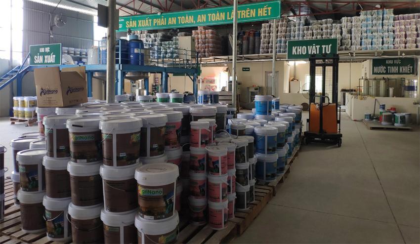 Chuyển giao quy trình sản xuất sơn nước