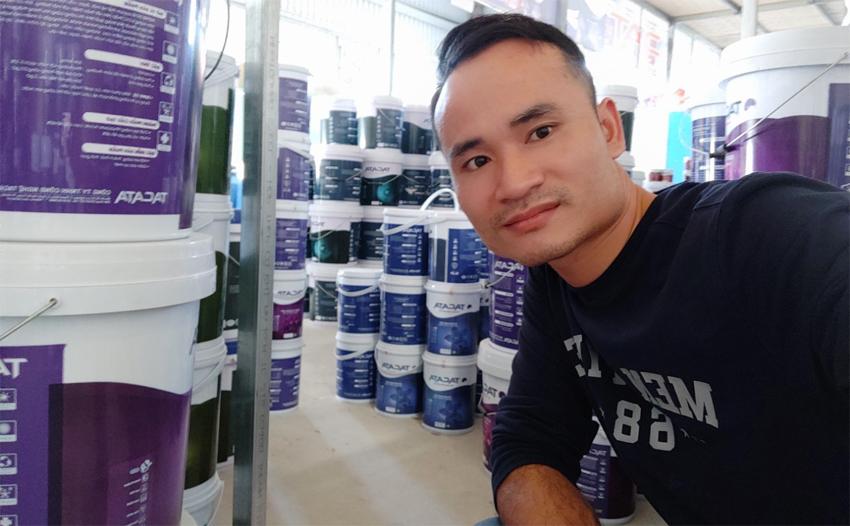 Quy trình sản xuất sơn tường