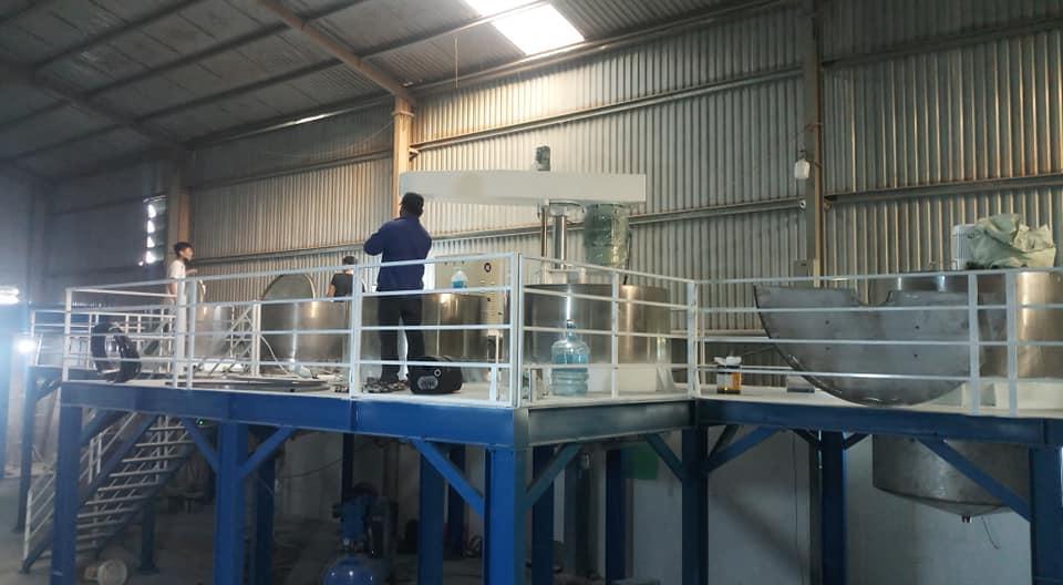 Quy trình công nghệ sản xuất sơn nước
