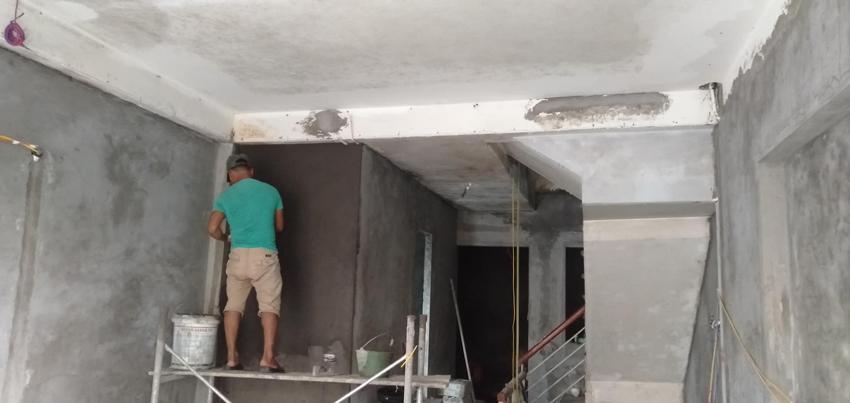 Quy trình sơn nhà