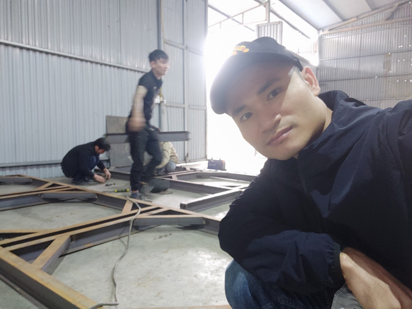 Nâng cấp xưởng sản xuất sơn