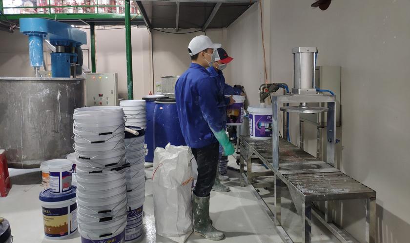 Chuyển giao quy trình sản xuất sơn
