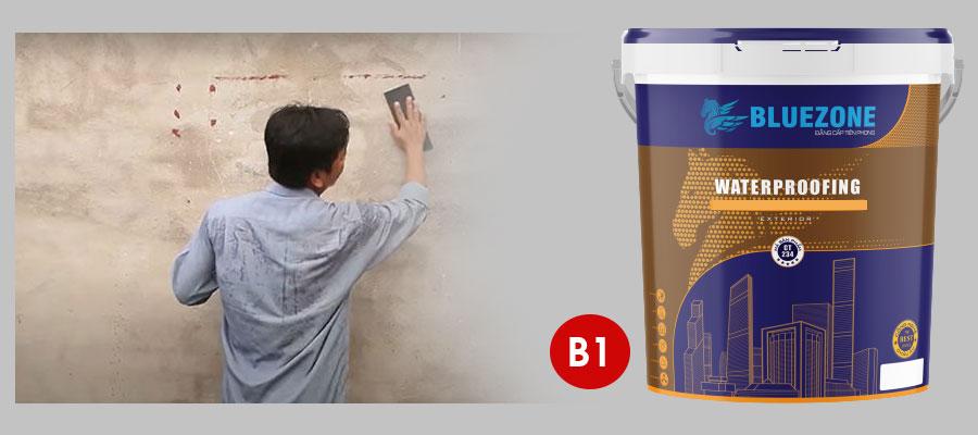 Cách thi công sơn chống thấm xi măng